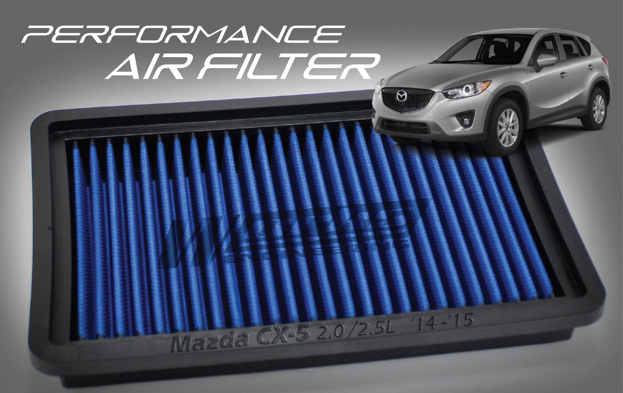 WORKS ENGINEERING Performance Air Filter MAZDA ...