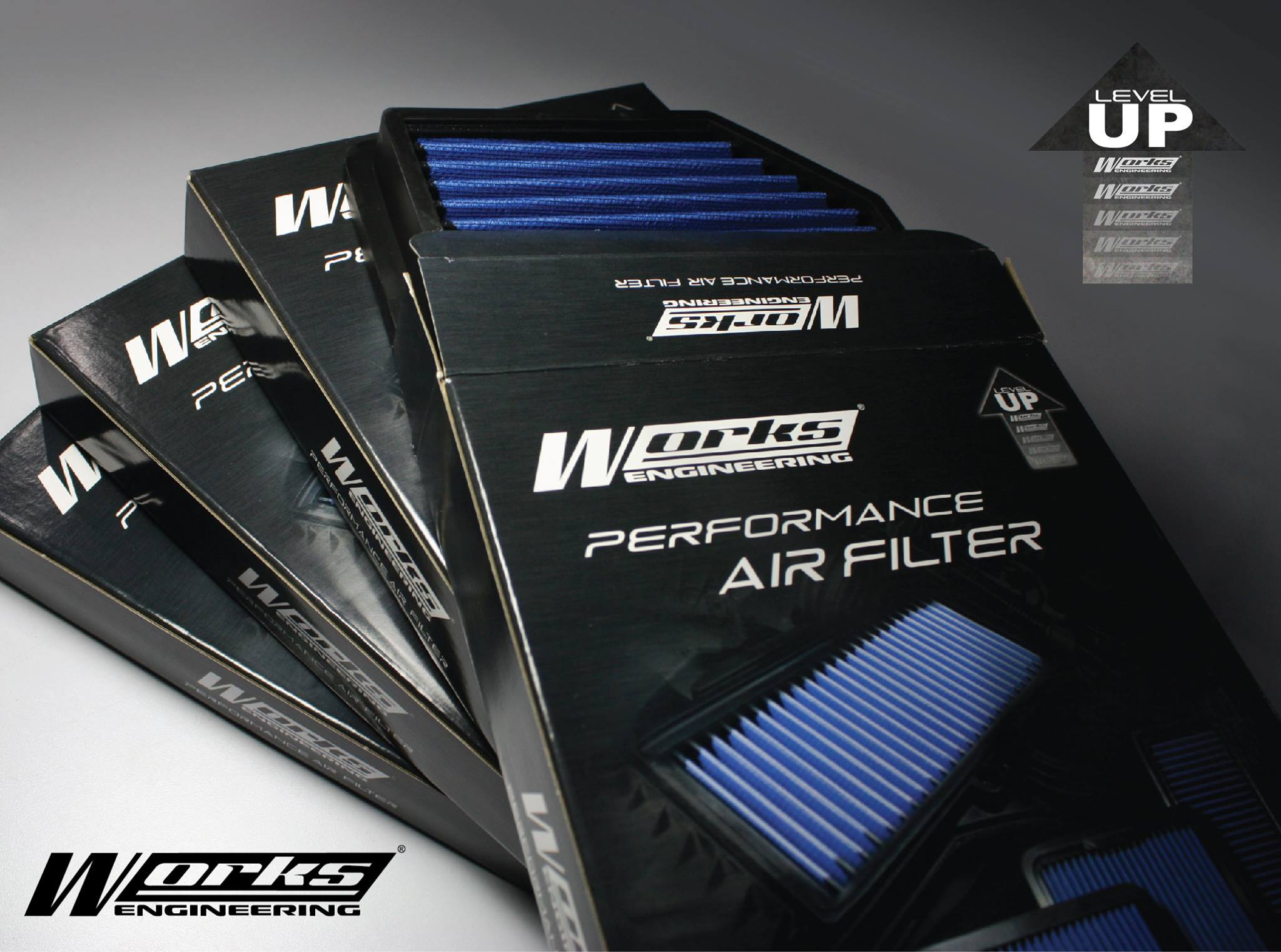 Works Engineering Performance Air Filter Hyundai Sonata 2